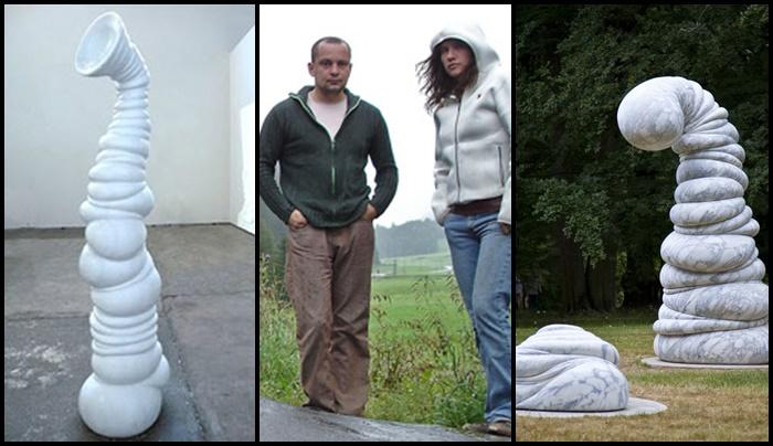 """Los """"Smörfs"""" de Venske &Spänle"""