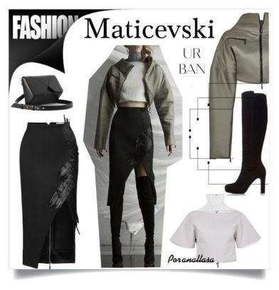 Set de moda realizado por anallasa con ropa de Maticevski, bolso de cushnie et Ochs y botas de Duna Saylord