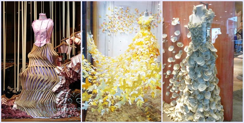 Anthropologie, el arte de hacer escaparates.