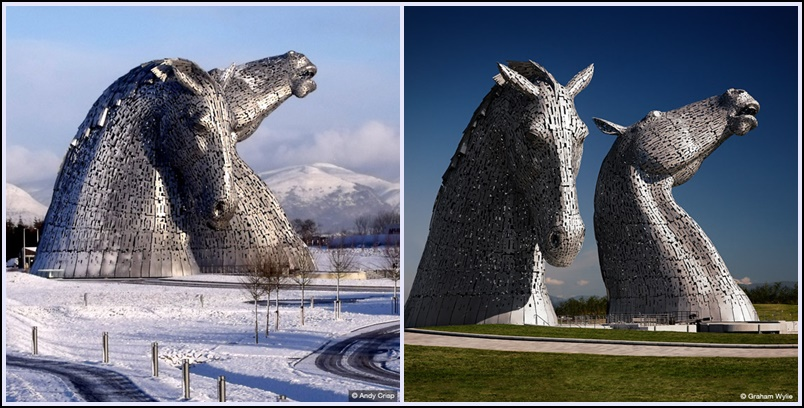 "Andy Scott y ""The Kelpies"""