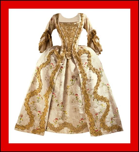 Siglo-XVIII-Vestido-Mujer-Rococo-Anallasa