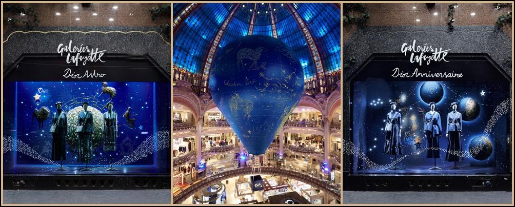 La Maison Dior et GaleriesLafayette