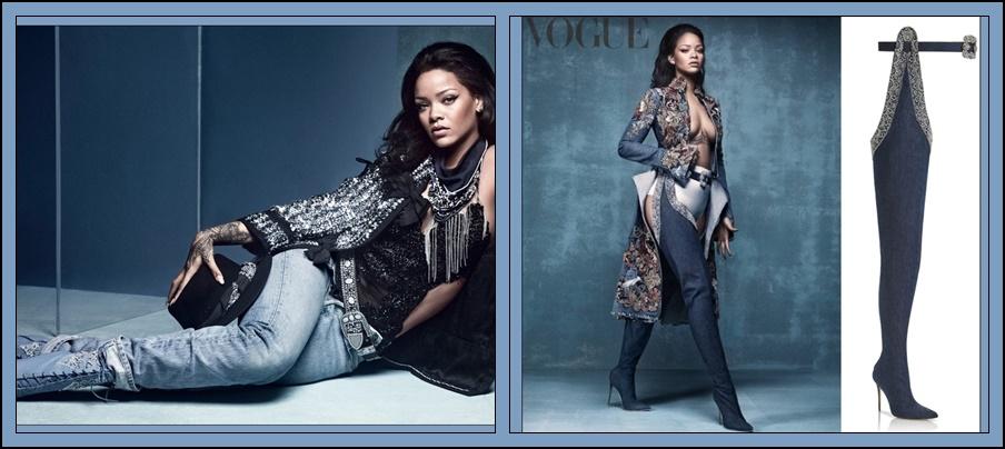 Rihanna y ManoloBlahnik