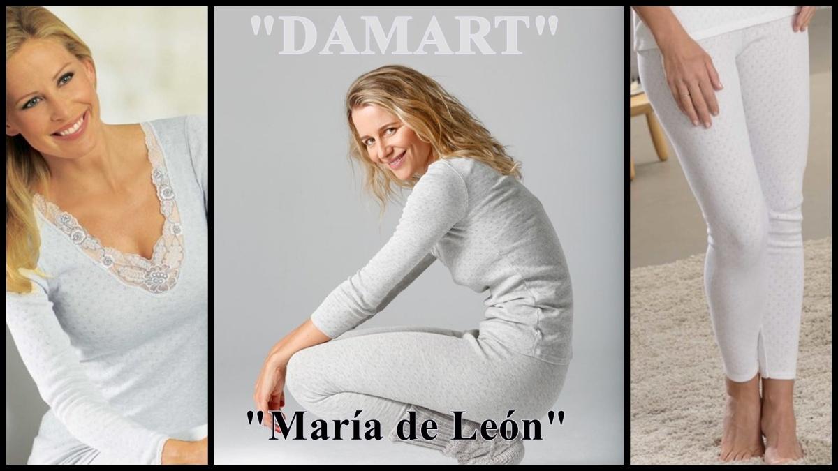 Damart, María de León y El CorteInglés