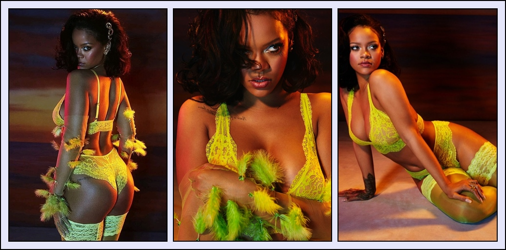 "Rihanna and ""Savage X Fenty"" Lingerie."